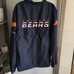 Chicago Bears Reebok Wind Breaker